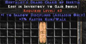 Assassin Shadow Disciplines w/ 7% FRW GC