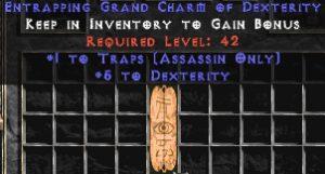 Assassin Traps w/ 3-5 Dex GC