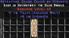 Assassin Traps w/ 3-5 Str GC