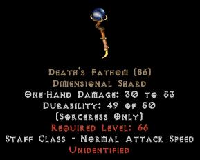 Death's Fathom - Unid