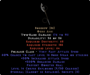 Bonehew - Ethereal - 320% ED - Perfect