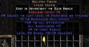 Barbarian Hellfire 17-19 res 20 stats
