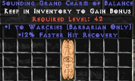 Barbarian Warcries w/ 12% FHR GC