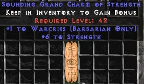 Barbarian Warcries w/ 6 Strength GC