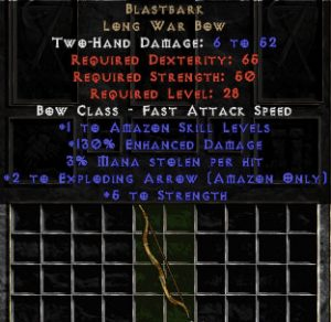 Blastbark - 130% ED - Perfect