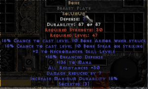 Bone BrWest Plate - 15% ED Base