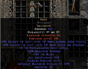Bone Wyrmhide - 15% ED Base