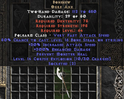 Bonehew 300%+ ED