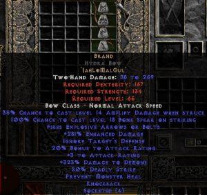Brand - Hydra Bow - 260-319% ED
