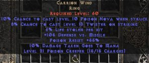 Carrion Wind - 6-8% LL
