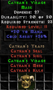Cathan's Visage - 27 Def - Perfect