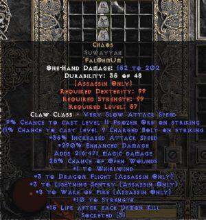 Chaos Suwayyah - 3 LS - 290-319% ED