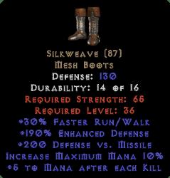 Silkweave - 190% ED