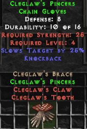 Cleglaw's Pincers