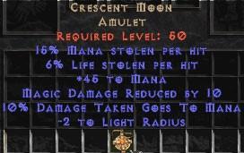 Crescent Moon - 6% LL & 15% ML - Perfect