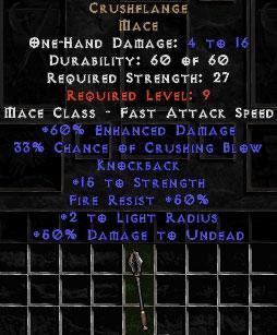 Crushflange - +60% ED - Perfect