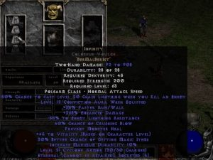 Infinity Colossus Voulge - Ethereal - 255-294% ED & -45-54% ELR