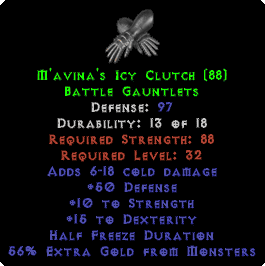 M'avina's Icy Clutch - 97 Def - Perfect