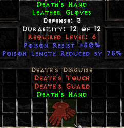Death's Hand - 3 Def - Perfect