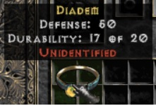 10 x Unid Rare Diadem