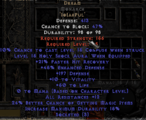 Dream Monarch - 5-14 Res - Base 15/15