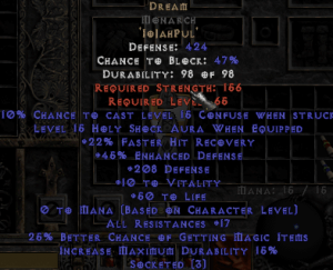 Dream Monarch - 15-19 Res - Base 15/15