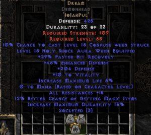 Dream Demonhead - 5-14 Res - Base 15% ED