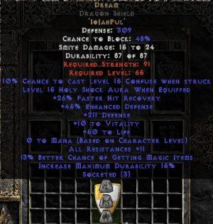 Dream Dragon Shield - 5-14 Res