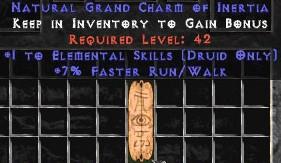 Druid Elemental Skills w/ 7% FRW GC