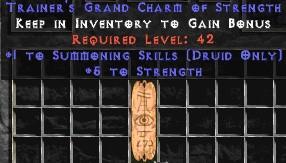 Druid Summoning Skills w/ 3-5 Str GC