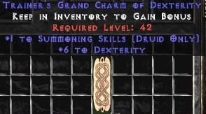 Druid Summoning Skills w/ 6 Dex GC