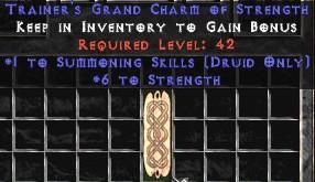 Druid Summoning Skills w/ 6 Strength GC