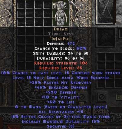 Dream Troll Nest - 5-14 Res - Base 15% ED