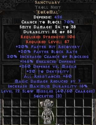 Sanctuary Troll Nest - 50-59 Res