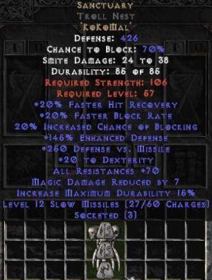 Sanctuary Troll Nest - 70 Res & 130-174% ED