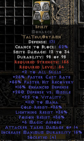 Spirit Monarch - 25-29% FCR - Base 15/15
