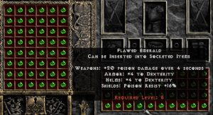 Flawed Emerald - Pack of 88