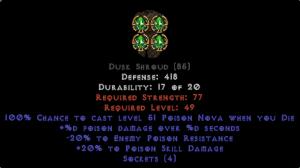 =+20/-20 Poison Facet Die Dusk Shroud