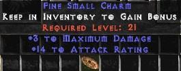 3 Max Damage w/ 10-16 AR SC
