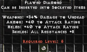 Flawed Diamond