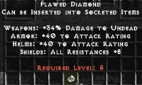 Flawed Diamond - Pack of 88