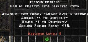 Flawed Emerald