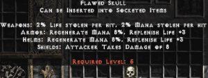 Flawed Skull