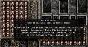 Flawed Skull - Pack of 88
