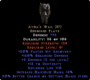 Atma's Wail - 160% ED