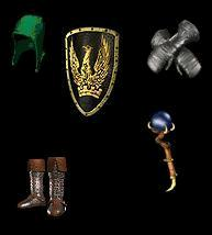 Bone and Poison Equipment (Power) with merc