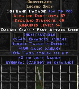 Ghostflame - Ethereal - 220%+ ED