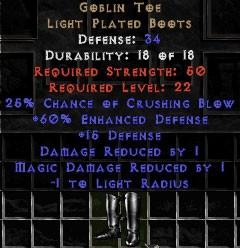 Goblin Toe - +60% ED