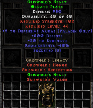 Griswold's Heart - 950 Def - Perfect