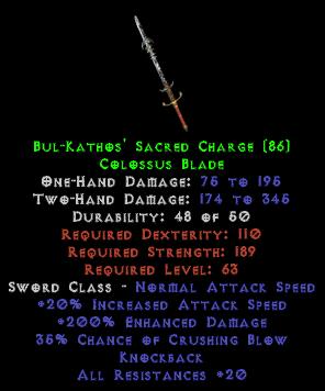 Bul-Kathos' Sacred Charge